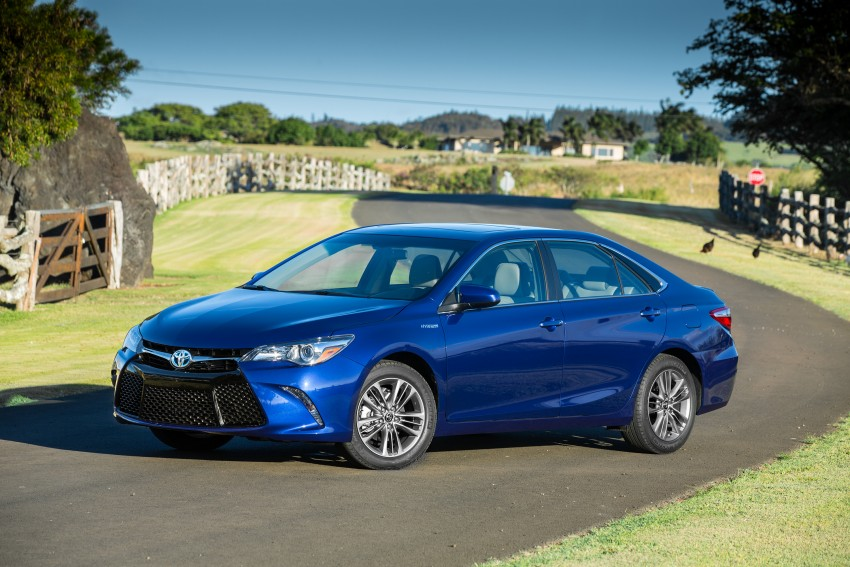 2015 Toyota Camry – major facelift unveiled in NYC Image #333919