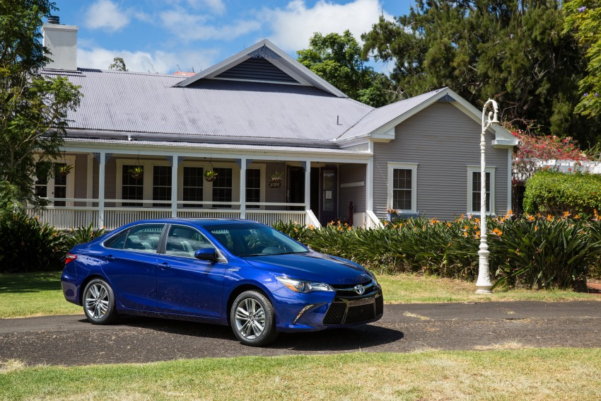 2015 Toyota Camry – major facelift unveiled in NYC Image #333915