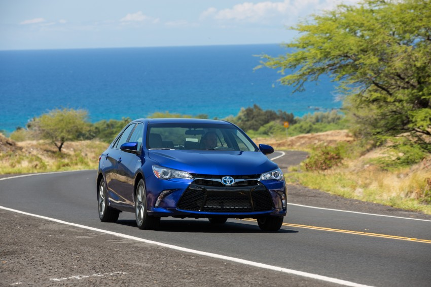 2015 Toyota Camry – major facelift unveiled in NYC Image #333916