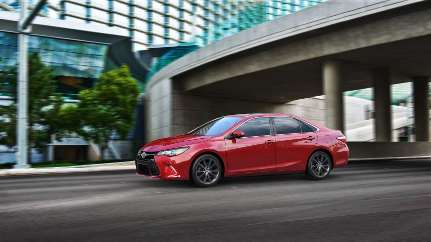 2015 Toyota Camry – major facelift unveiled in NYC Image #241750
