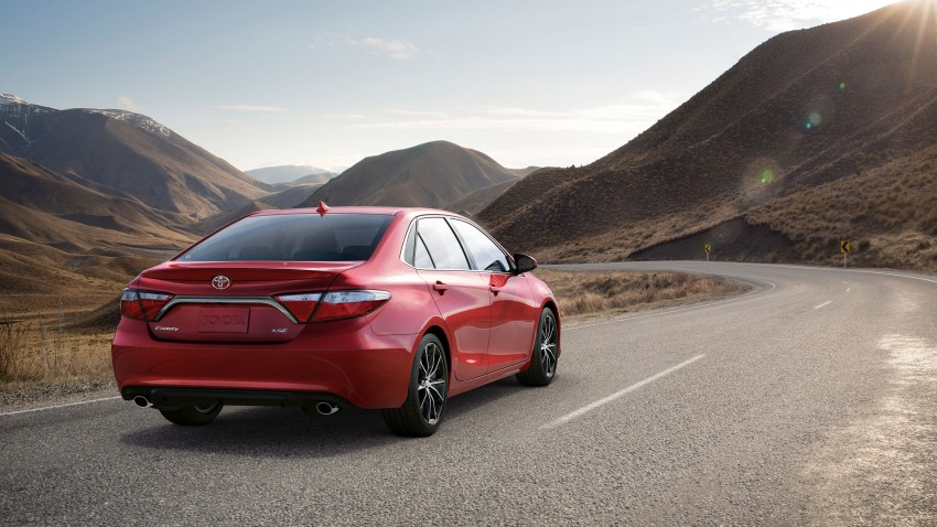 2015 Toyota Camry – major facelift unveiled in NYC Image #241751