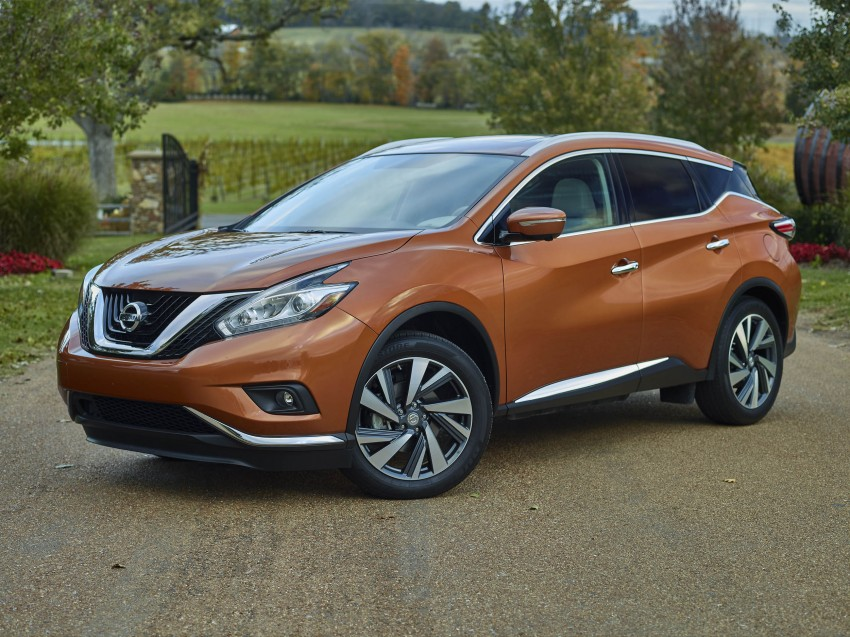Third-generation Nissan Murano – first official photos Image #330743