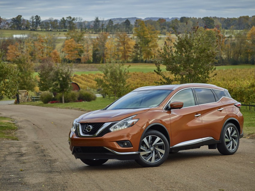 Third-generation Nissan Murano – first official photos Image #330755