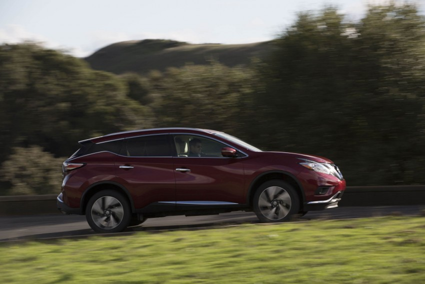 Third-generation Nissan Murano – first official photos Image #330802