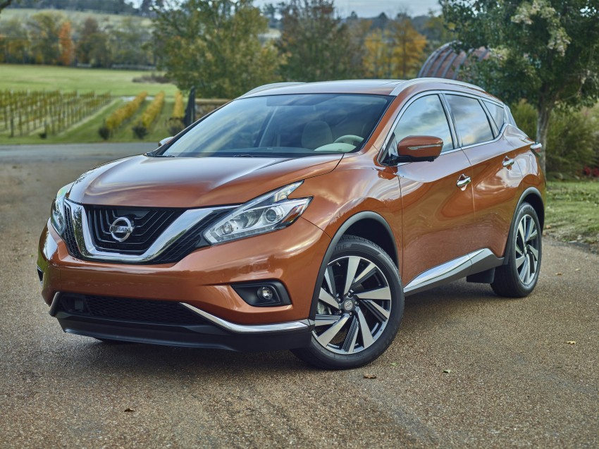 Third-generation Nissan Murano – first official photos Image #330761