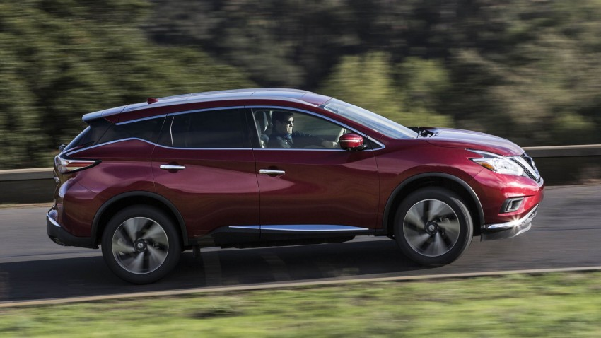 Third-generation Nissan Murano – first official photos Image #330816