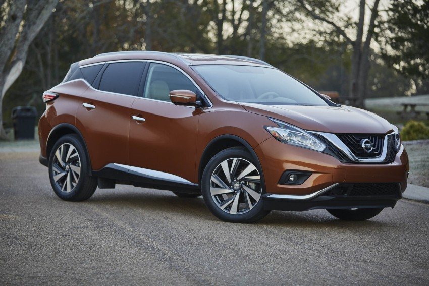 Third-generation Nissan Murano – first official photos Image #330753