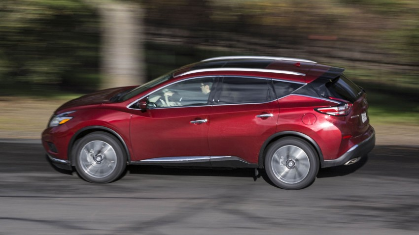 Third-generation Nissan Murano – first official photos Image #330817