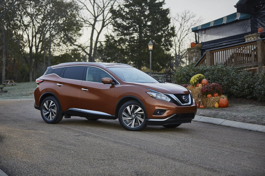 Third-generation Nissan Murano – first official photos Image #330762