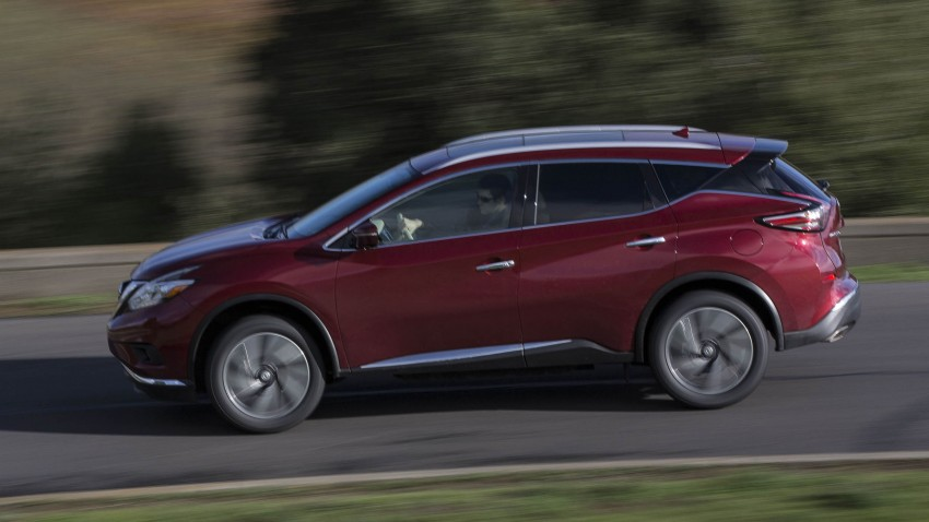 Third-generation Nissan Murano – first official photos Image #330819