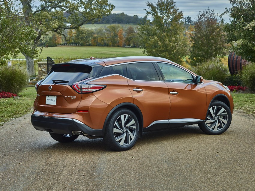 Third-generation Nissan Murano – first official photos Image #330784