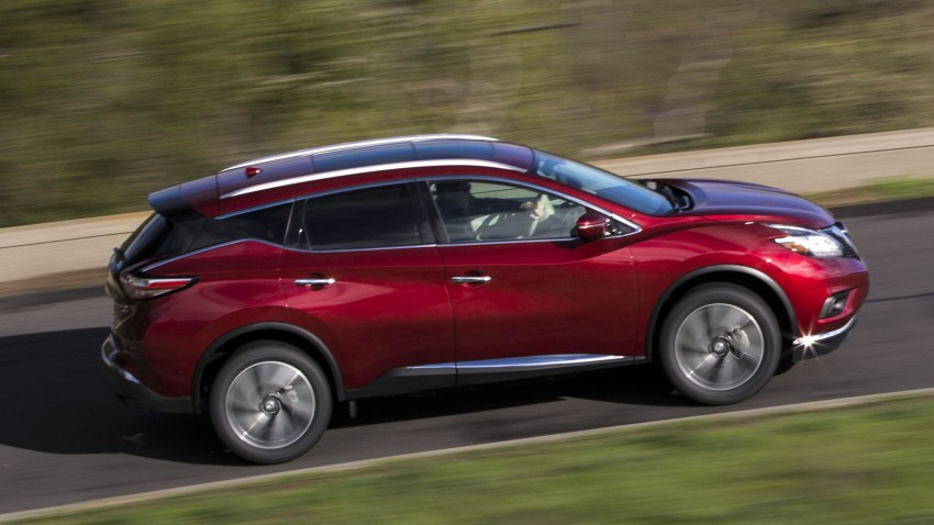 Third-generation Nissan Murano – first official photos Image #330810