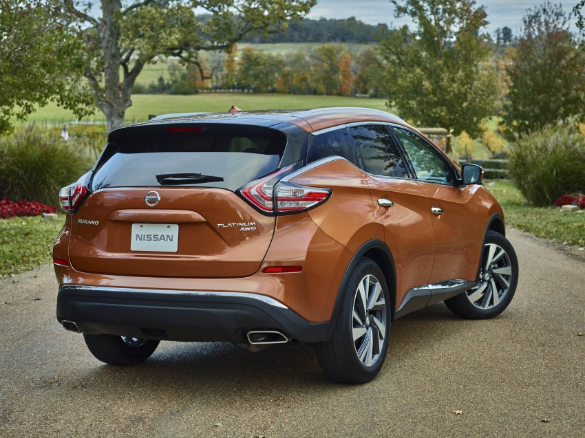 Third-generation Nissan Murano – first official photos Image #330798