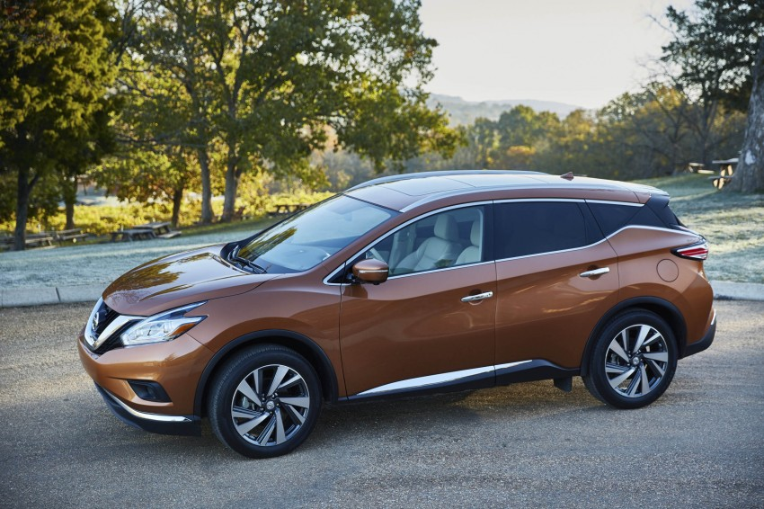 Third-generation Nissan Murano – first official photos Image #330790