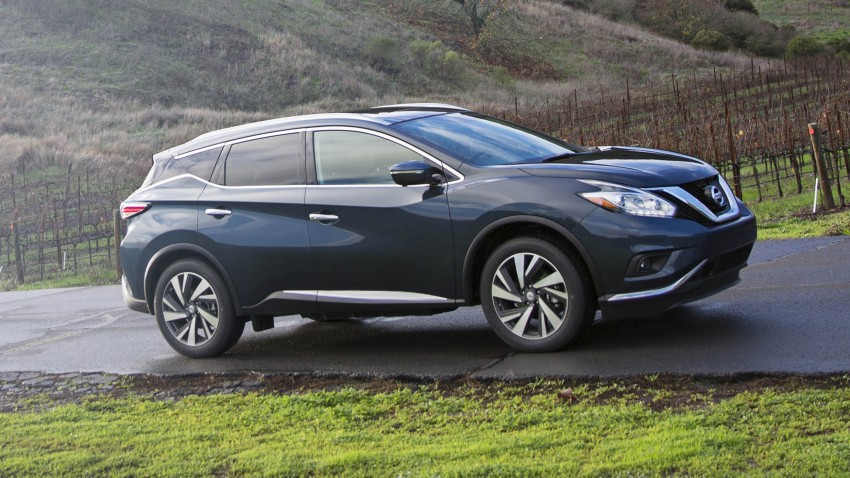 Third-generation Nissan Murano – first official photos Image #330808