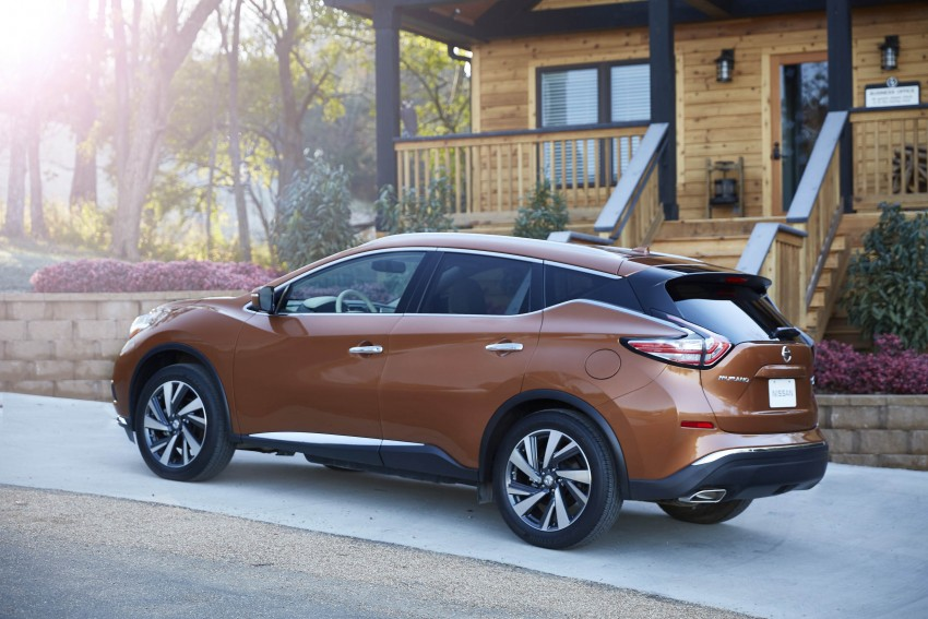 Third-generation Nissan Murano – first official photos Image #330763