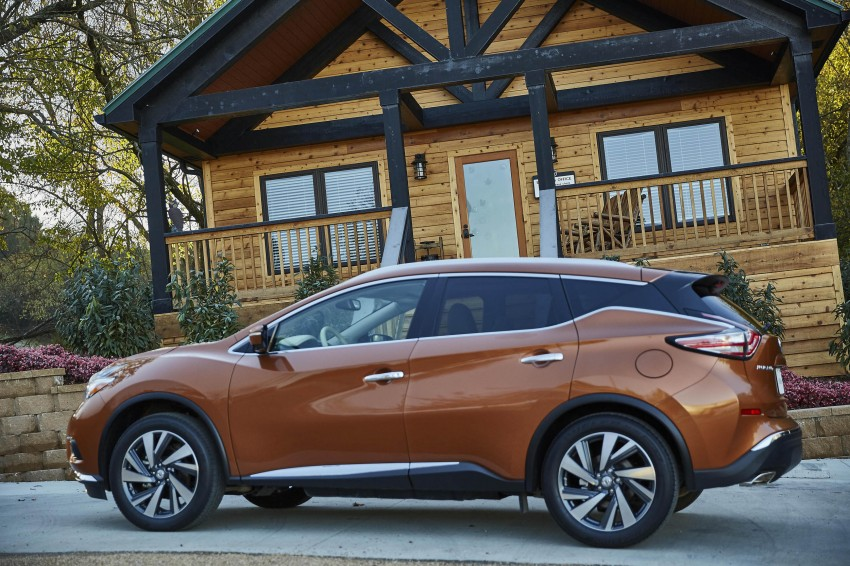 Third-generation Nissan Murano – first official photos Image #330746