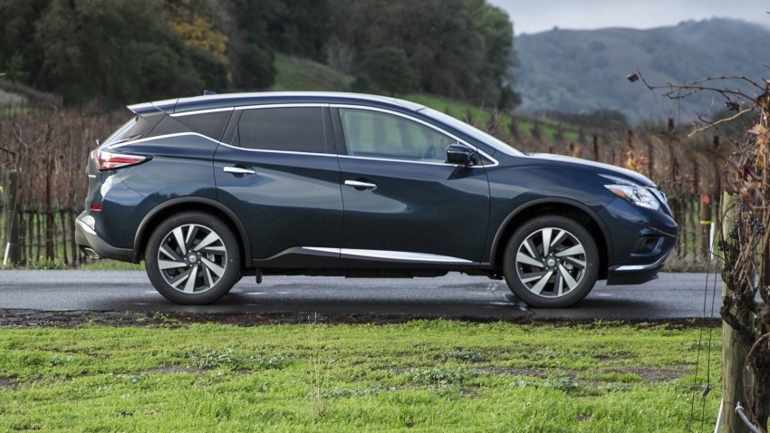 Third-generation Nissan Murano – first official photos Image #330820