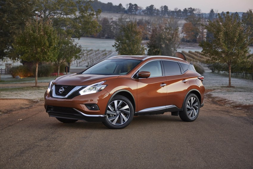 Third-generation Nissan Murano – first official photos Image #330777