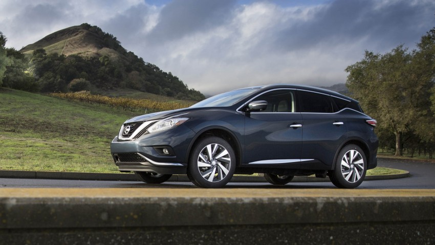 Third-generation Nissan Murano – first official photos Image #330821