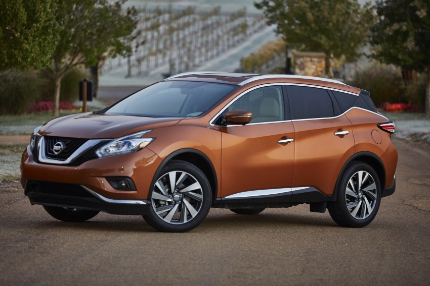 Third-generation Nissan Murano – first official photos Image #330807