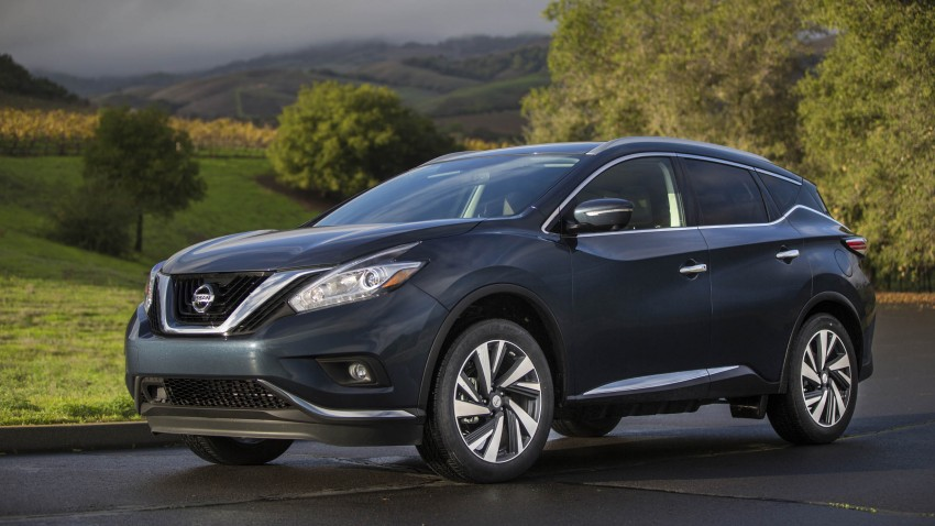 Third-generation Nissan Murano – first official photos Image #330811