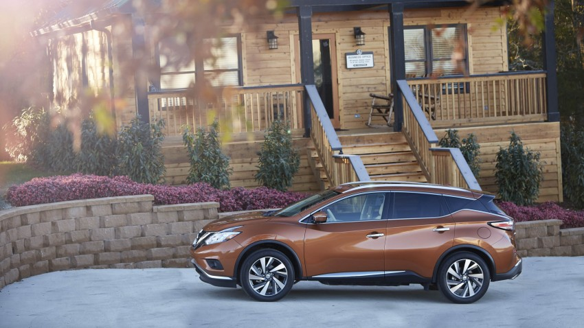 Third-generation Nissan Murano – first official photos Image #330822