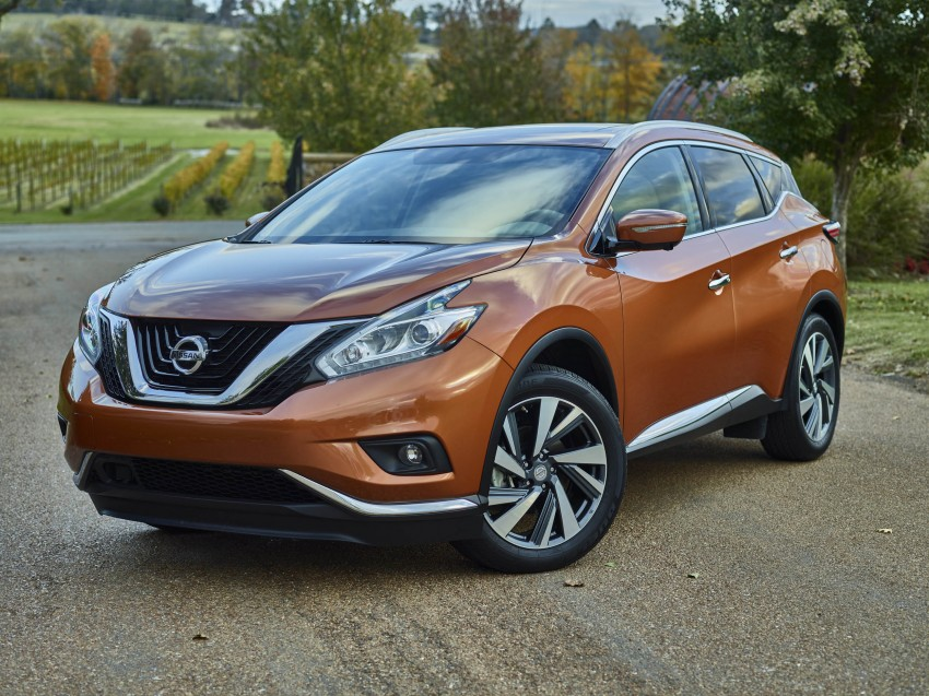 Third-generation Nissan Murano – first official photos Image #330791
