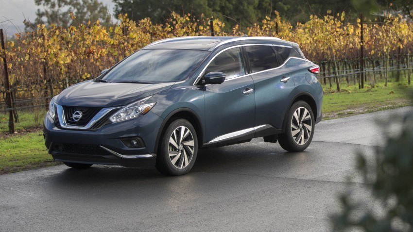 Third-generation Nissan Murano – first official photos Image #330814