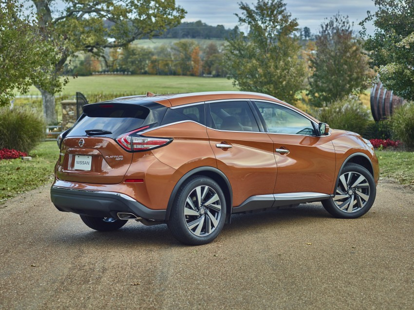 Third-generation Nissan Murano – first official photos Image #330750