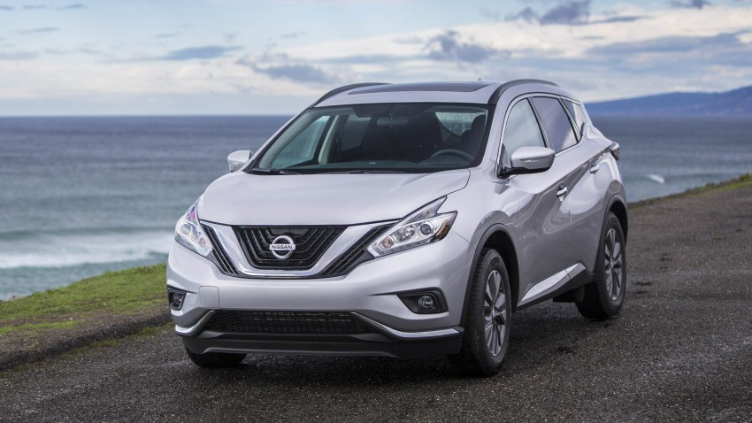 Third-generation Nissan Murano – first official photos Image #330812