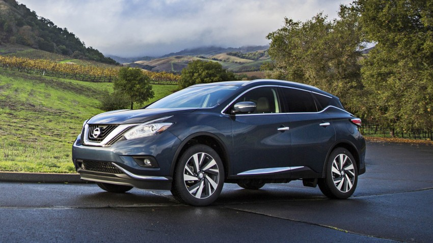 Third-generation Nissan Murano – first official photos Image #330818