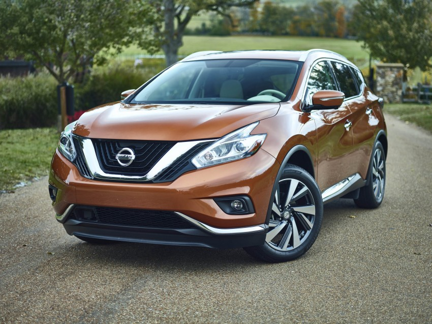 Third-generation Nissan Murano – first official photos Image #330779
