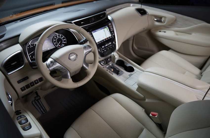 Third-generation Nissan Murano – first official photos Image #330804