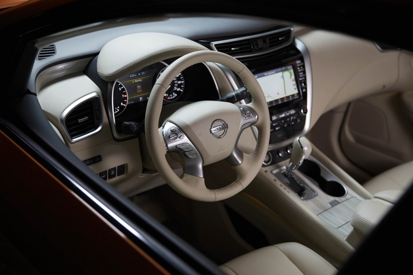 Third-generation Nissan Murano – first official photos Image #330805