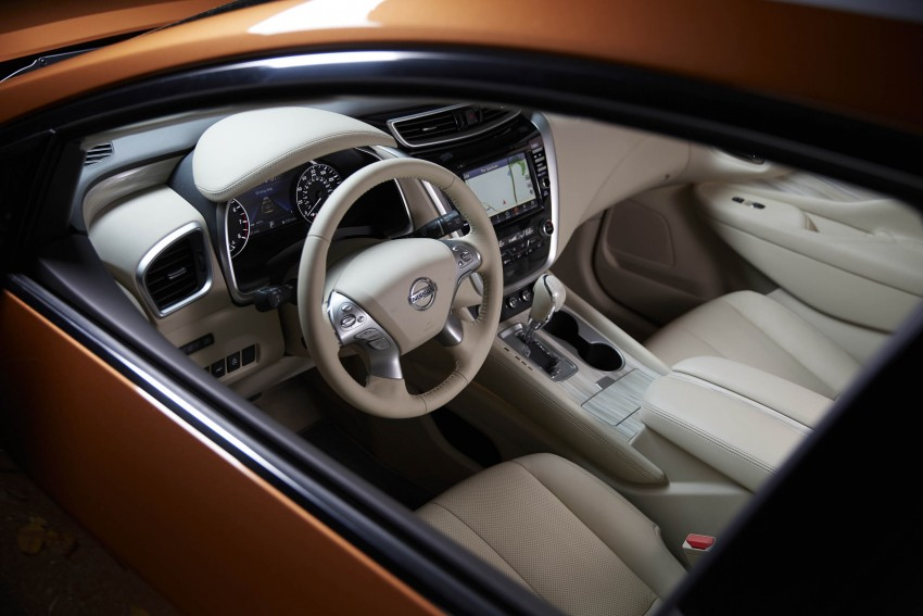Third-generation Nissan Murano – first official photos Image #330806