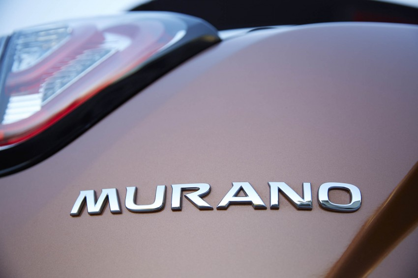 Third-generation Nissan Murano – first official photos Image #330796