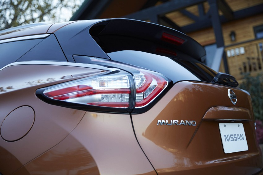 Third-generation Nissan Murano – first official photos Image #330799