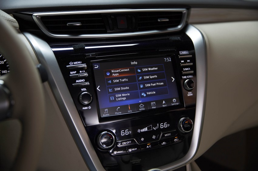 Third-generation Nissan Murano – first official photos Image #330769