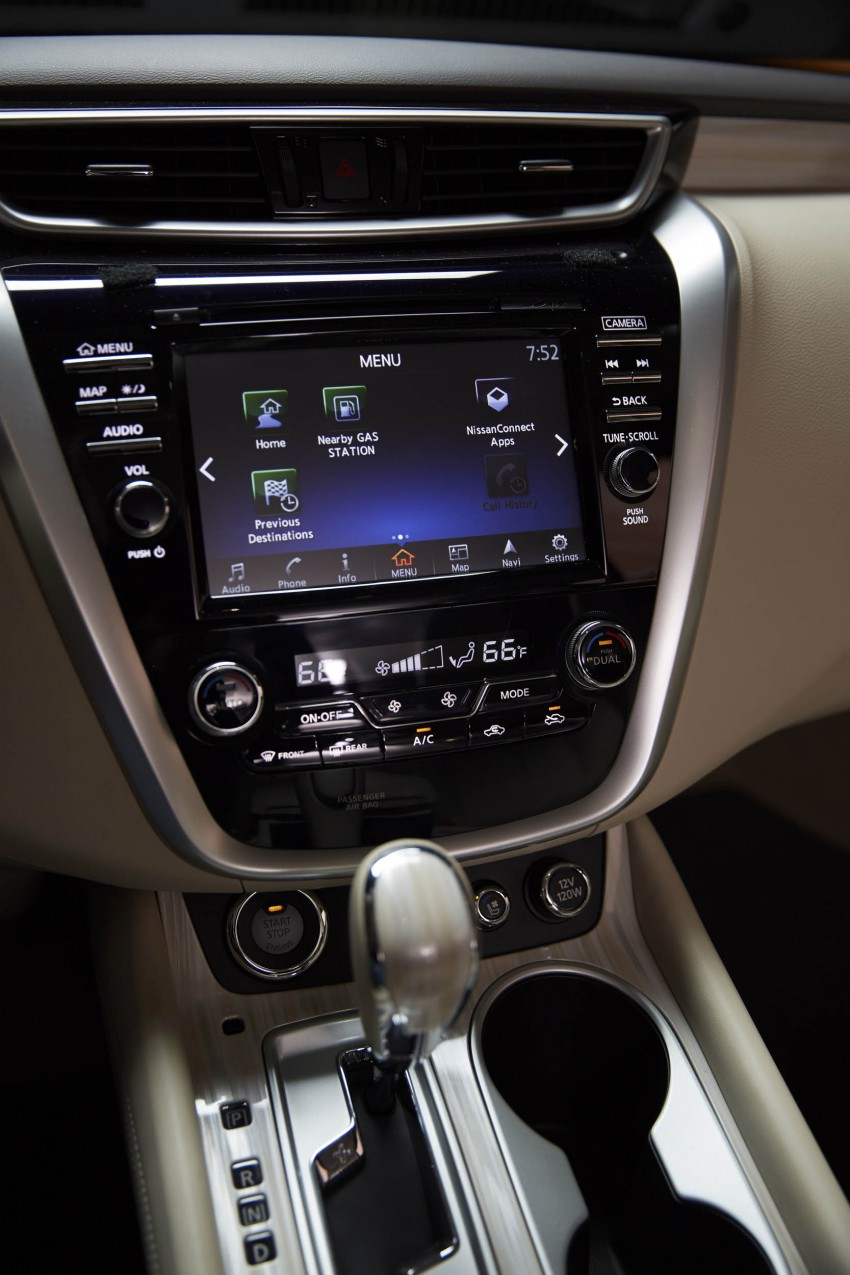 Third-generation Nissan Murano – first official photos Image #330793