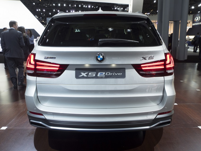 Updated BMW Concept X5 eDrive shown in New York Image #242405