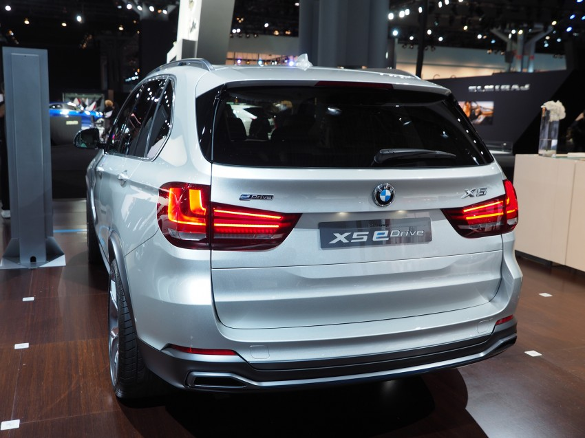 Updated BMW Concept X5 eDrive shown in New York Image #242406