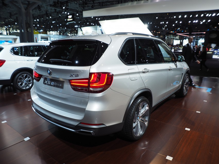Updated BMW Concept X5 eDrive shown in New York Image #242408