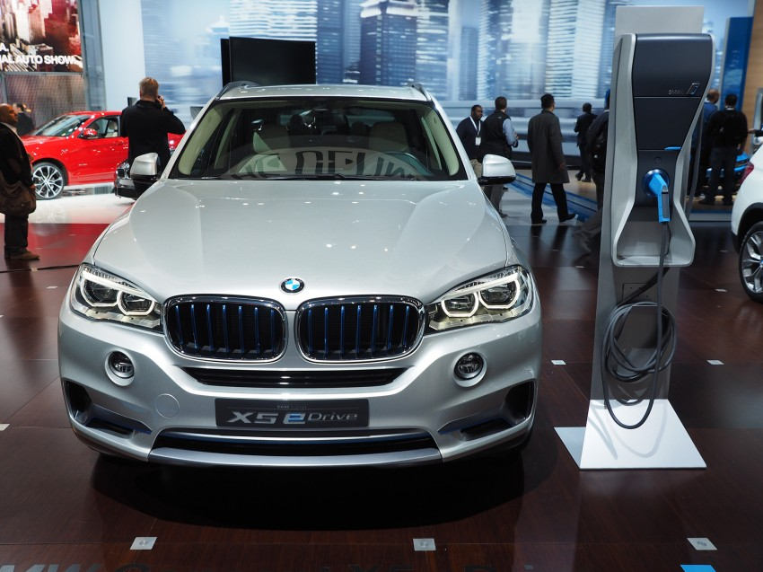 Updated BMW Concept X5 eDrive shown in New York Image #242410