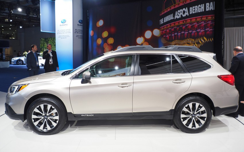 2015 Subaru Outback – jacked-up Legacy debuts in NY Image #243859