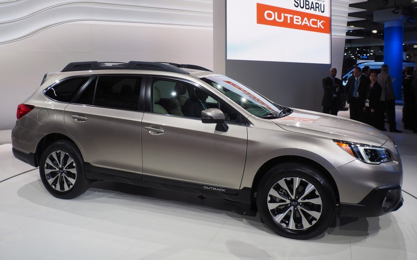 2015 Subaru Outback – jacked-up Legacy debuts in NY Image #243860