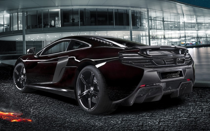 McLaren MSO 650S Coupe Concept shown in China Image #245057