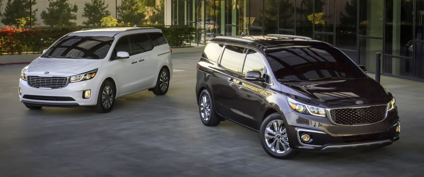 2015 Kia Carnival / Sedona breaks cover in New York Image #241172