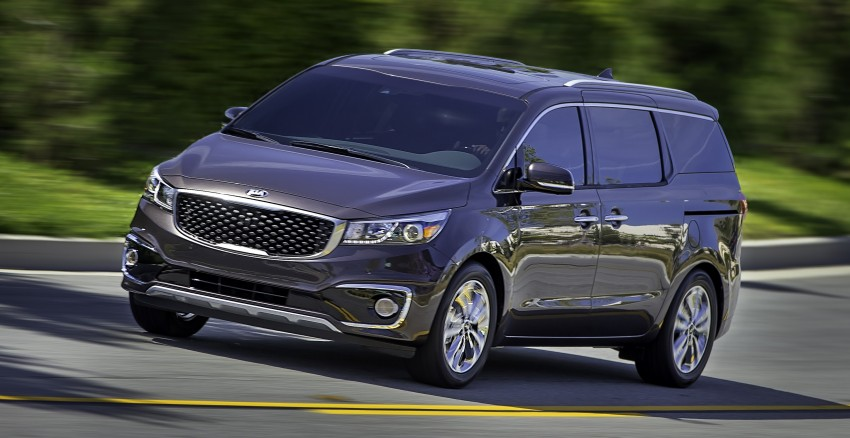 2015 Kia Carnival / Sedona breaks cover in New York Image #241171