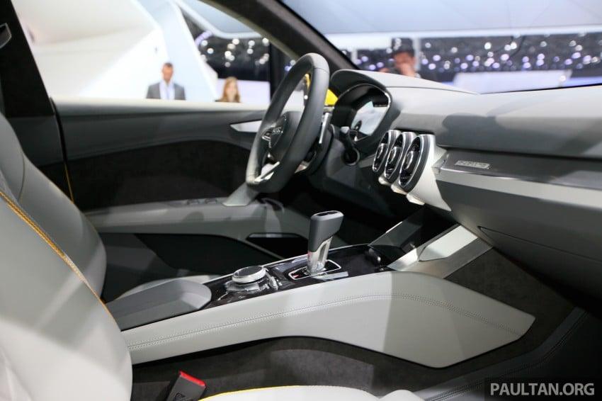 Beijing 2014: Audi TT Offroad Concept is a tallboy TT Image #243097